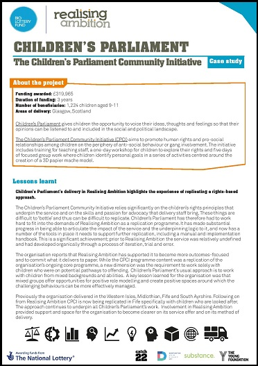 realising-ambition-case-study-childrens-parliament