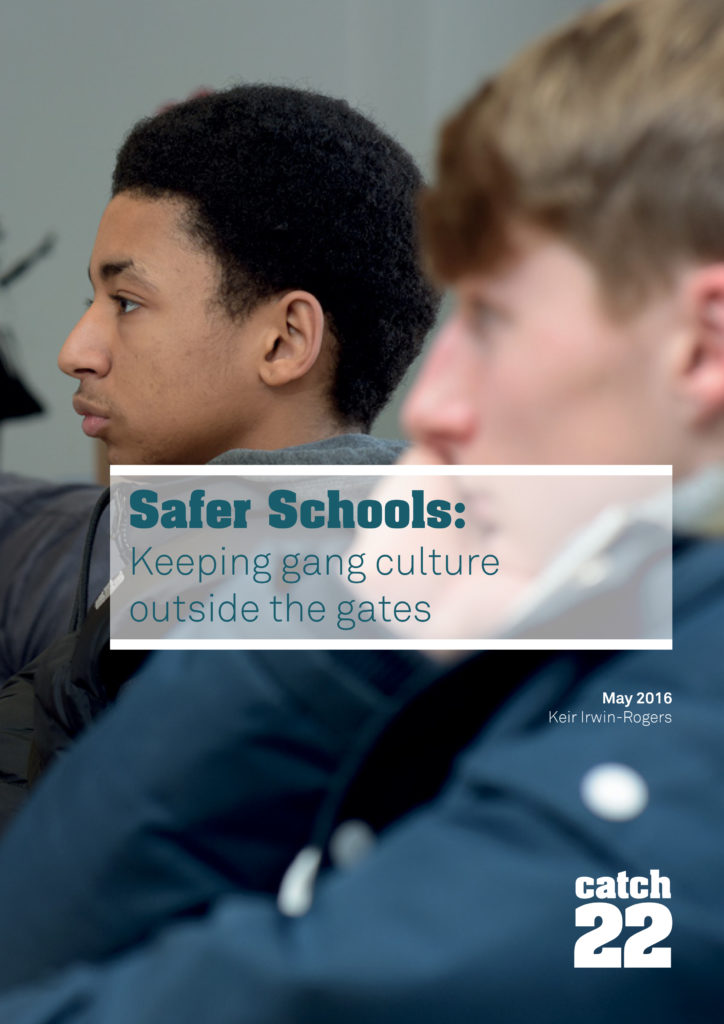 Catch22 Dawes Unit Safer Schools (Cover)
